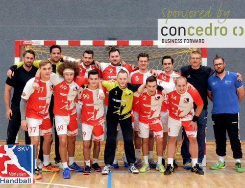 concedro sponsert den Handballverein HSG Mörfelden/Walldorf